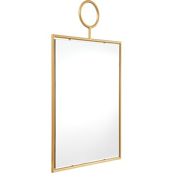 Gold Ring Wall Mirror