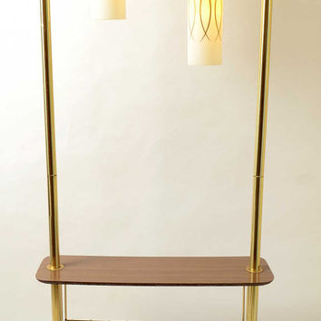 Magazine Lamp Table Wire 1950 1960 Mid Century Modern