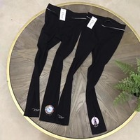 """Dior"" Women All-match Casual Simple Fashion Letter Pattern Print Show Thin Cotton Leggings Pants Trousers"
