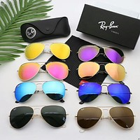 Ray Ban Trending Women Men Personality Simple Summer Sun Shades Eyeglasses Glasses Sunglasses I-A-SDYJ