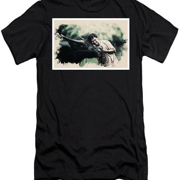 Wildlife Series - The Bread Earners - Men's T-Shirt (Athletic Fit)