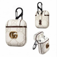 Gucci Pendant White APPLE AIRPOD CASE Protector COVER
