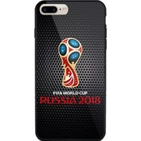 Fifa world cup 2018 Black logo art Design iPhone 6 6s 7 8 Plus Hard Plastic Case