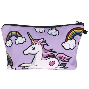 unicorn pencil case Kawaii trousse scolaire stylo High capacity kalem kutusu estuche escolar material escolar school supplies