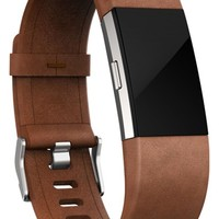 Fitbit Charge 2 Leather Accessory Band | Nordstrom