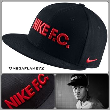 "Nike FC True SnapBack Cap, Rare Neymar ""We Don't Play"" Campaign, 100% Genuine"