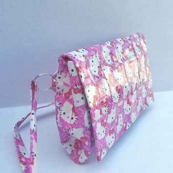 Hello Kitty Duct Tape Crossbody Purse