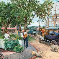 Rivertown Jigsaw Puzzle 500pc Jigsaw Puzzle