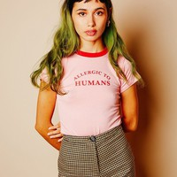 Allergic To Humans Tee