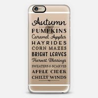 Autumn 02 iPhone 6 case by Noonday Design | Casetify