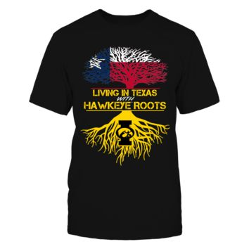 Texas-Hawkeye Roots - T-Shirt - Officially Licensed Fashion Sports Apparel