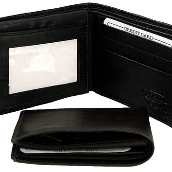 Genuine Leather Marshal Bifold Men's Wallet