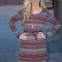 Vineyard Beauty Tunic Dress