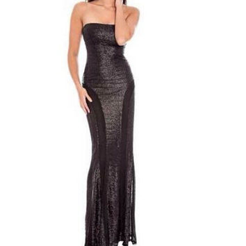 Bra Prom Dress Mermaid One Piece Dress [4920433924]