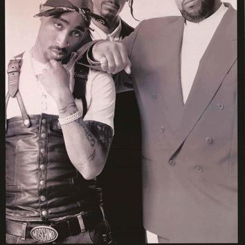 Tupac Shakur and Friends Poster 24x36