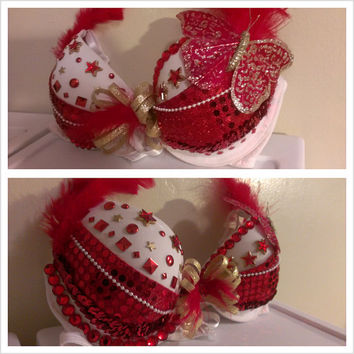 Custom decorated/design bra
