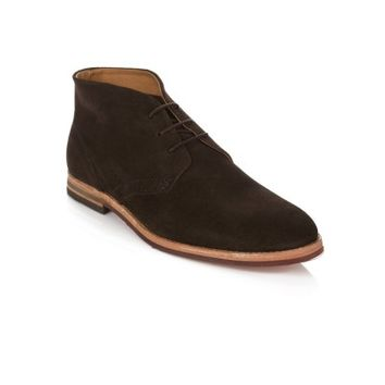 Hudson Brown Houghton Suede Boots