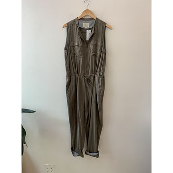 Elevenses Green Utility Jumpsuit