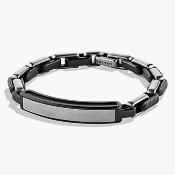 Men's David Yurman 'Modern Cable' ID Bracelet