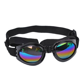 New Pet Sunglasses Fashionable Water-Proof Multi-Color Pet Dog Sunglasses Eye Wear Protection Goggles Small #2151