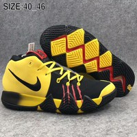NIKE Kyrie4 Irving 4 Breathable Basketball Shoes Air Cushion Boots F-AHXF
