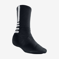 Nike Hyper Elite Crew Basketball Socks - Black