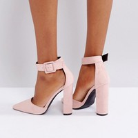 Glamorous Nude Heeled Shoes at asos.com