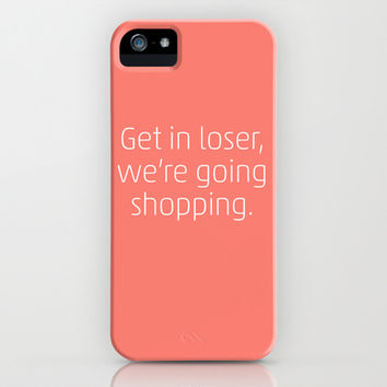 Mean Girls #6 – Shopping iPhone & iPod Case by Enyalie