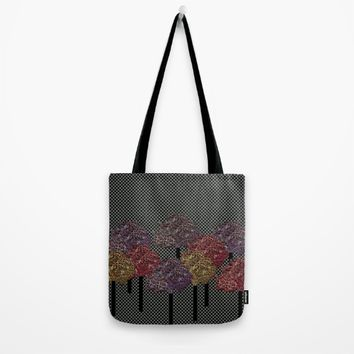Autumn trees Tote Bag by Bozena Wojtaszek