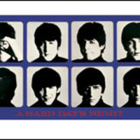 The Beatles - A Hard Days Night - Wide Poster