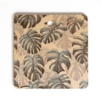 Dash and Ash Palm Springs Blues Cutting Board Square