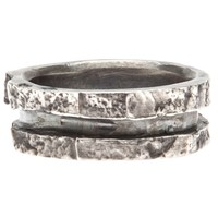 Rene Talmon L'armee Thin Split Relief Ring