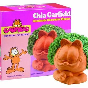 Chia Garfield Handmade Decorative Planter, 1 Kit