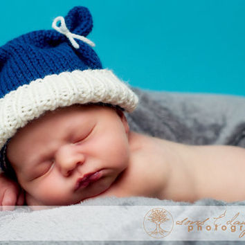 Knit Baby Hat Knit Newborn Hat Newborn Hats Baby by knoodleknits