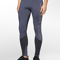 performance colorblock logo compression leggings | White Label | Calvin Klein
