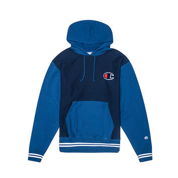 Champion Reverse Weave Colorblocking Hoodie (Navy) - S0886G5493 | Jimmy Jazz