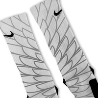 Wings 4 Customized Nike Elite Socks Fast Shipping!
