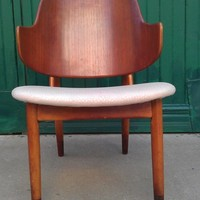 1950s MCM Ib Kofod Larsen Bent Plywood Chair