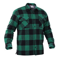 Rothco Mens Big & Tall Flannel Plaid Jacket