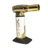 Stok FYR Atom BHO Torch Lighter - Gold