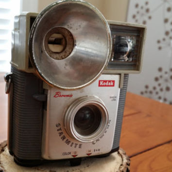 Vintage Eastman Kodak Brownie Starmite Camera Great Decor Piece Gift for Camera Collector