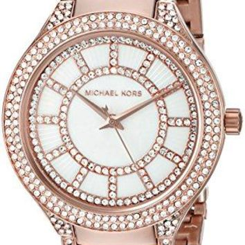 Michael Kors Women's Kerry Rose Gold-Tone Watch MK3313