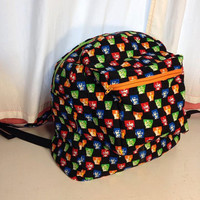 Available in other fabric designs, Beatles Backpack