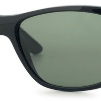 Cheap Ray-Ban Classic RB4181 Unisex Black/Grey Frame Green Lens Sunglasses outlet