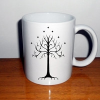 The Lord of the Rings Tree of gondor Mug
