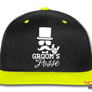Groom Wedding Marriage Stag night bachelor party Snapback