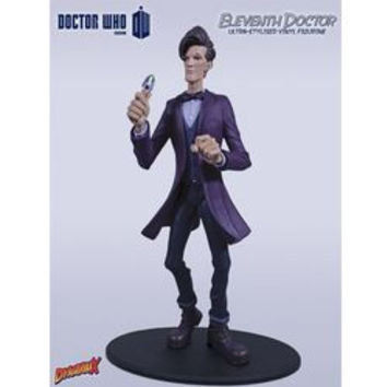 DOCTOR WHO - THE ELEVENTH DOCTOR (SERIES 7 PURPLE JACKET) - DYNAMIX ULTRA-STYLIZED VINYL FIGURINE