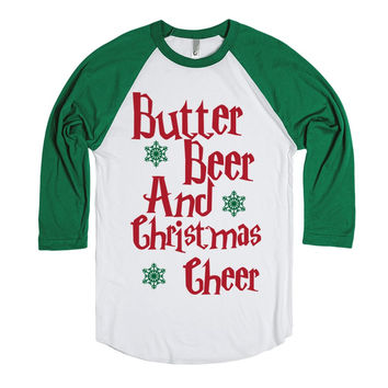 Harry Potter Christmas Shirt - Butter Beer and Christmas Cheer