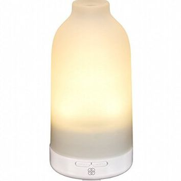 Botella Essential Oil Diffuser by Deneve® - Aromatherapy Diffuser - Aroma Diffuser - Oil Diffuser - Oil Diffuser Humidifier - Ultrasonic Oil Diffuser - 100% Satisfaction Guarantee! (Warm White LED)