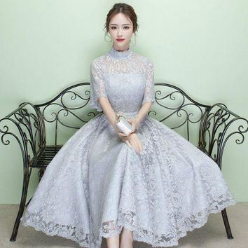 PEAPIH3 Evening dress new banquet autumn spring summer fashion host female company annual meeting long dress